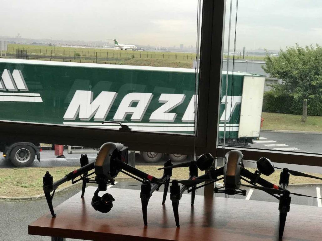 Créateur De Vidéo Par Drone à Paris Lyon Geneve Valence | Groupe Mazet