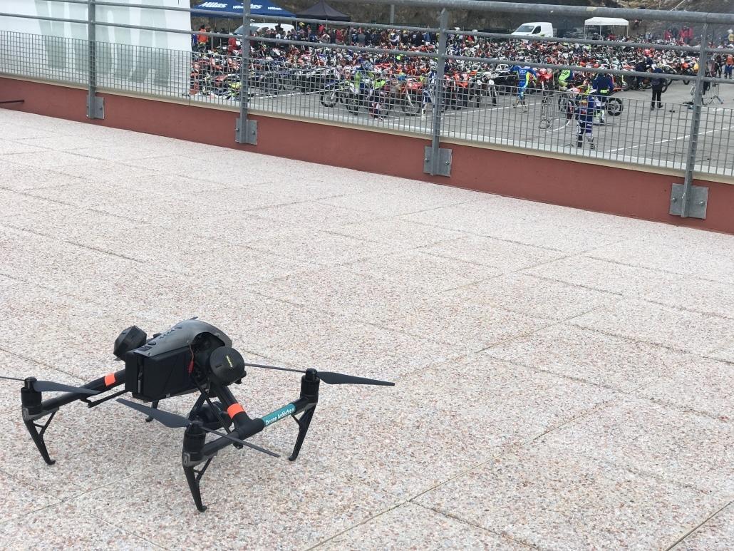 drone professionnel pour l'evenementiel dans la drome et le gard