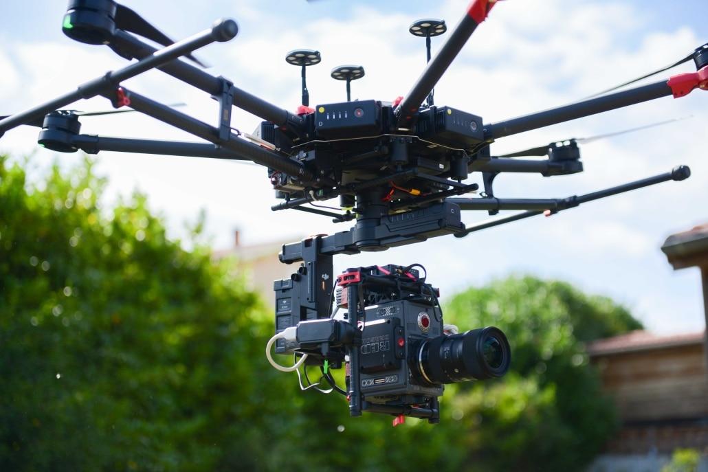 photo drone ardeche drone RED M600 Homologué ville