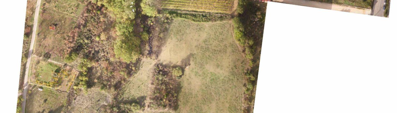 plan topographique ardeche drone orthophoto géoreferencée