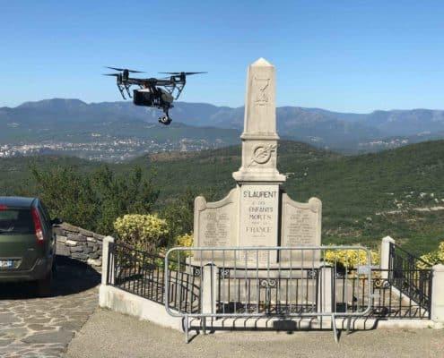 prises de vues aérinnes à Valence et Rhones Alpes