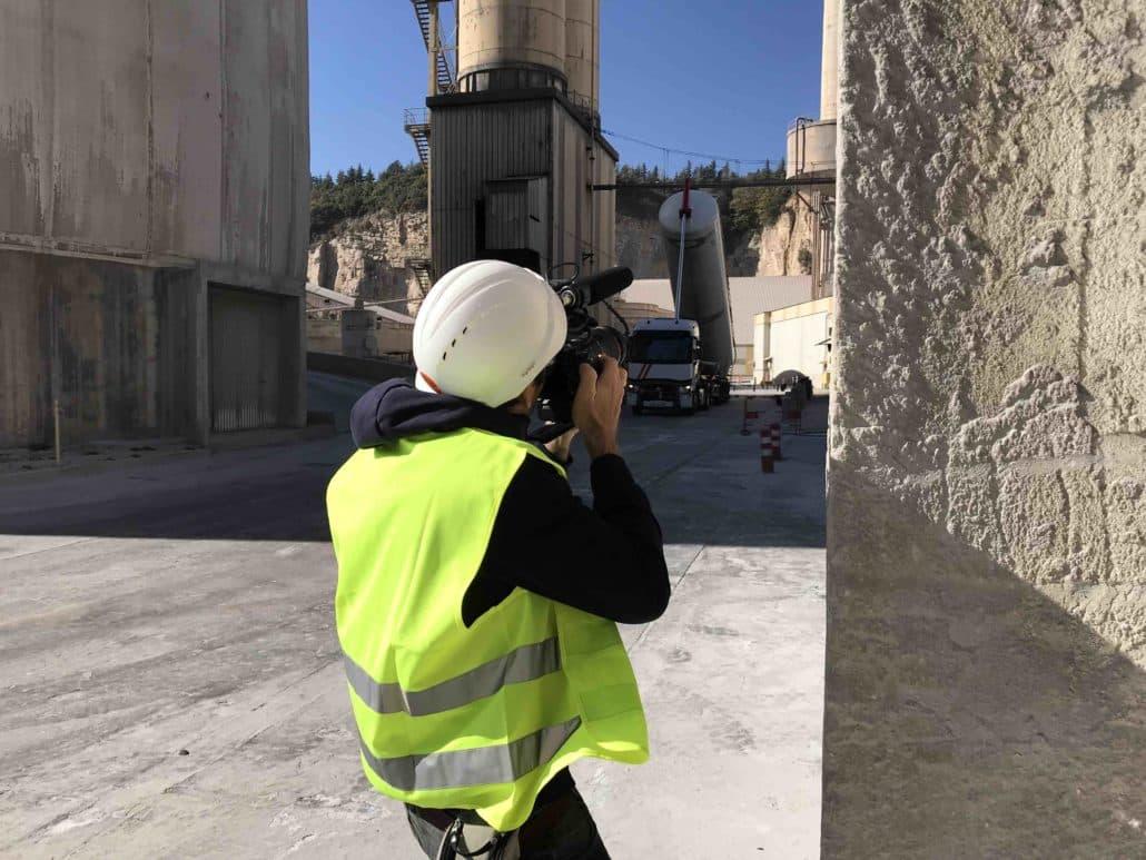 video par drone pour reportage tv