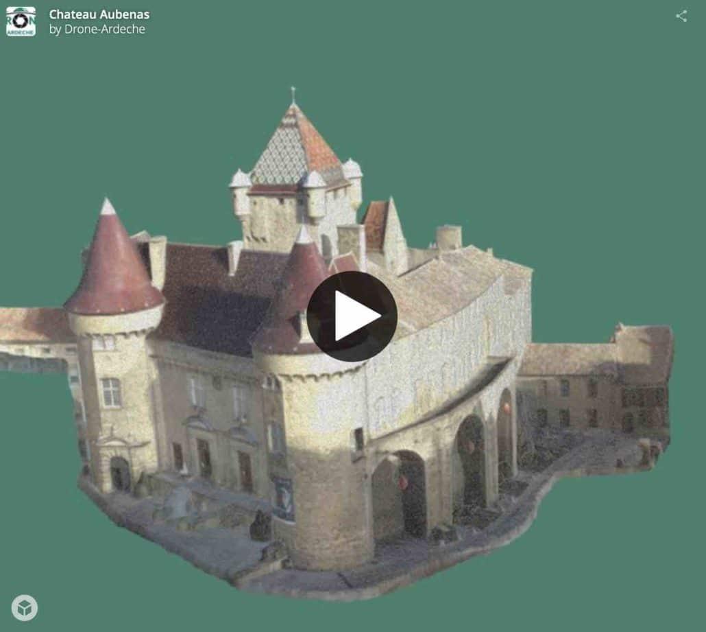 Modélisation d'un bâtiment complexe par photogrammétrie
