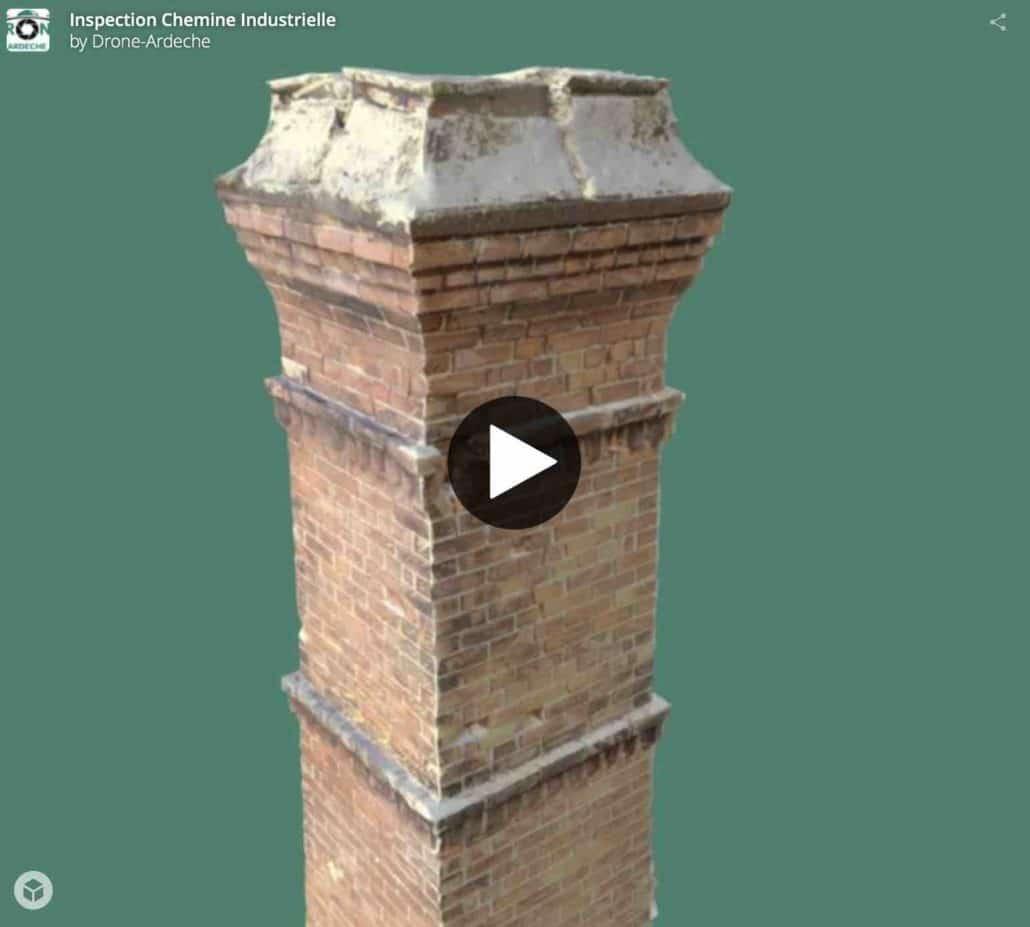 Modélisation de bâtiments ou de cheminées industrielles