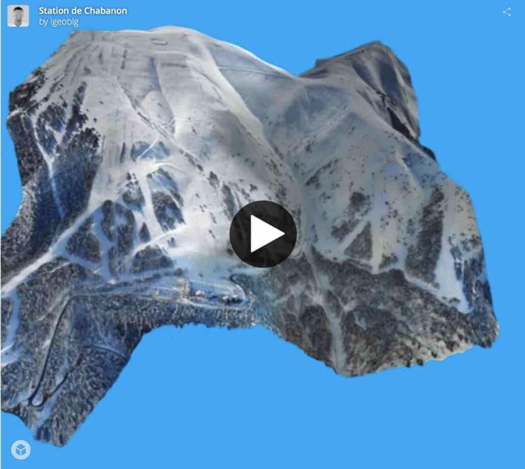 Modélisation de grandes surfaces par photogrammètrie