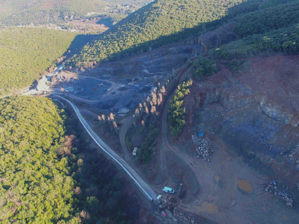 photographies par drone à proximité d'Alès