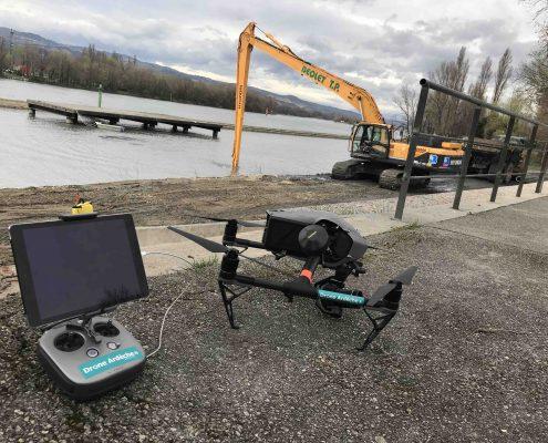 Opérateur drone professionnel dans le departement de la Drome