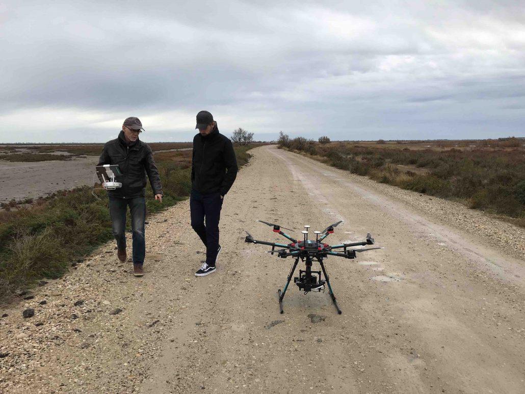 prestataire drone en Camargue