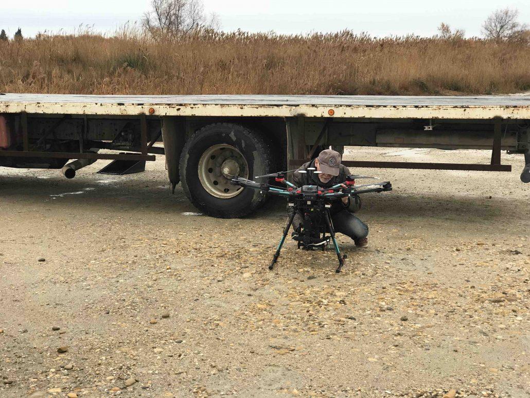 télépilote cadreur drone en camargue gard