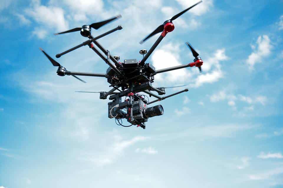 drone gros porteur dans le Gard, la Drome, l'Ardèche et le Vaucluse
