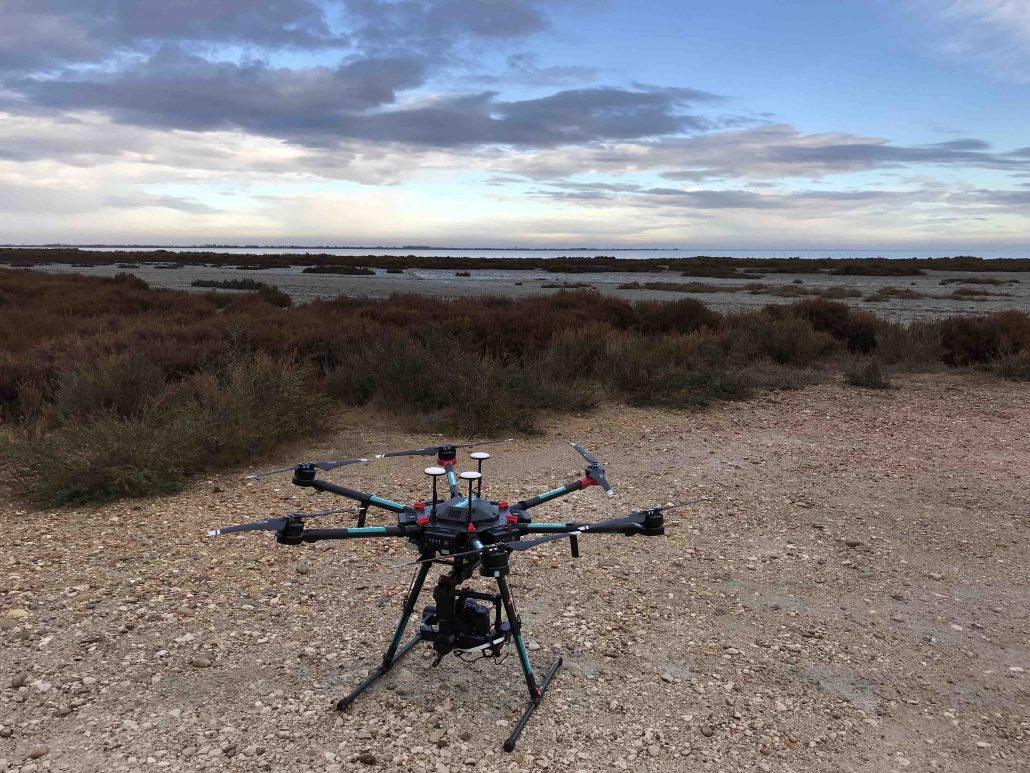 pilotage professionnel de drone en ardèche