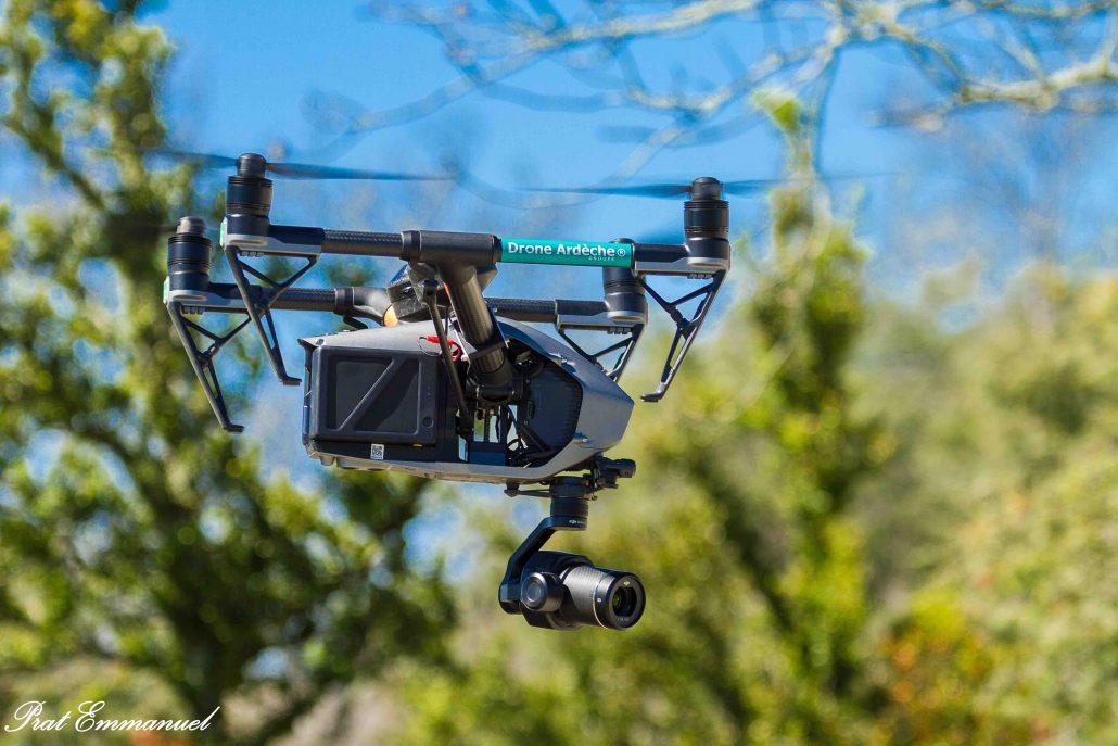 Télépilote de drone en Drome Ardèche