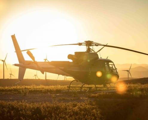 video en helicoptère en ardèche