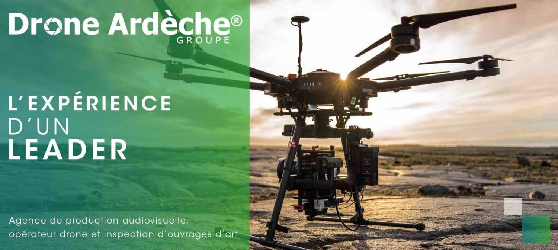Société de production audiovisuelle avec opérateur drone et inspection d'ouvrages d'art