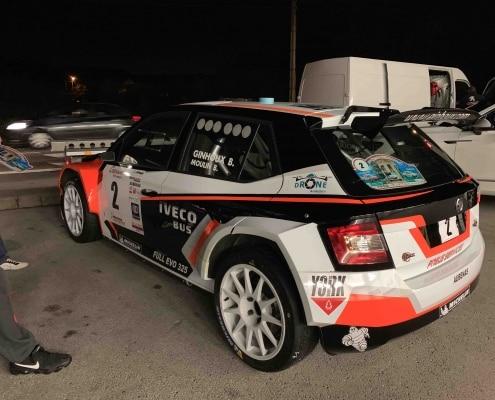 Bruno ginhoux rallye skoda r5