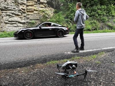 Production de vidéo | Prises de vues par drone pour l'automobile