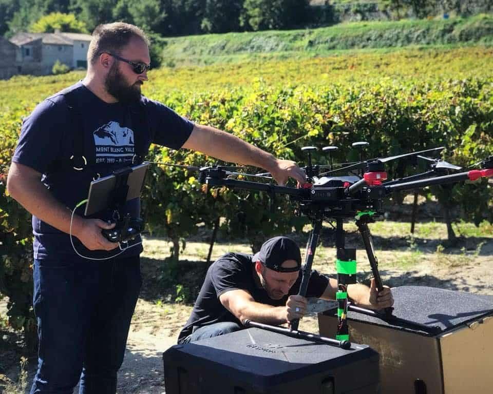 drone pour 360 en rhone alpes | drone 360 vr