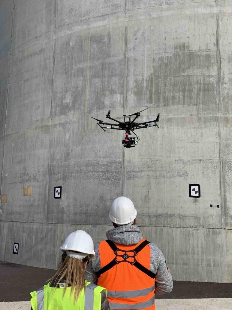 inspection d'ouvrages d'art par drone
