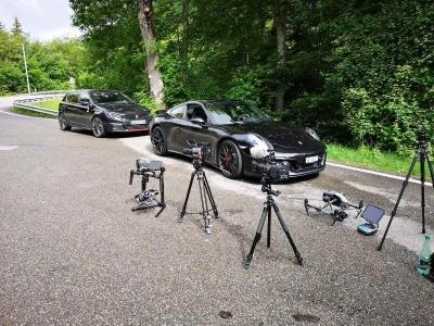 prises de vues par drone pour l'automobile | Agence de production vidéo pour la publicité automobile