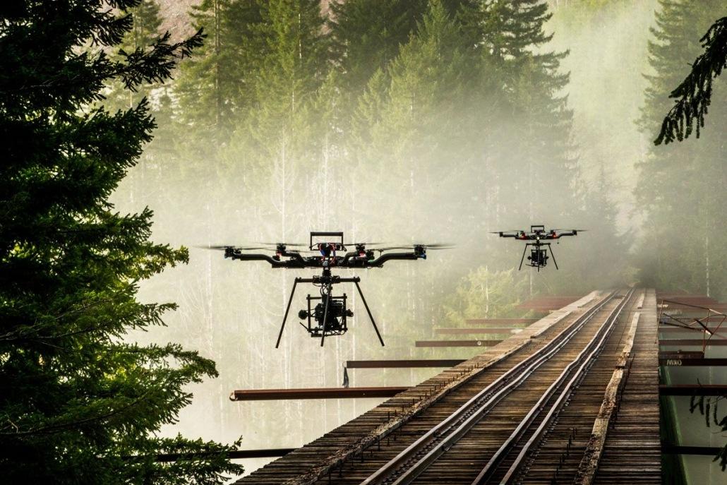 prestataire drone en Rhone alpes avec drone cinema ALTA