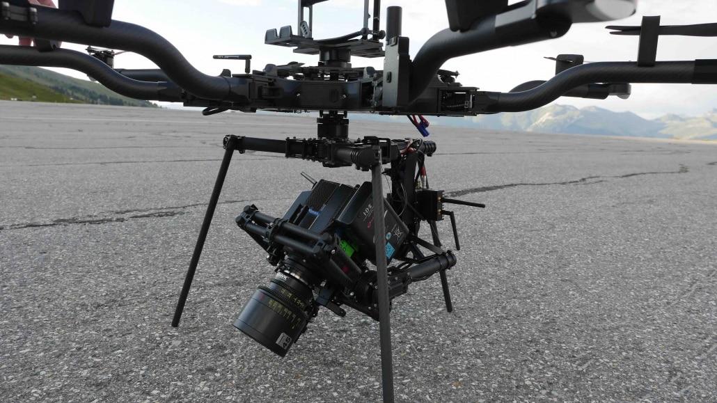 drone pour long métrages