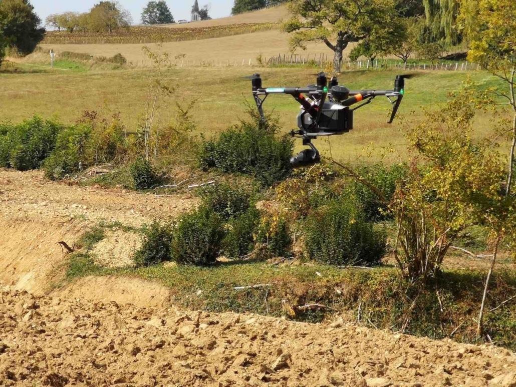 Suivi de chantier à Romans sur Isère par drone