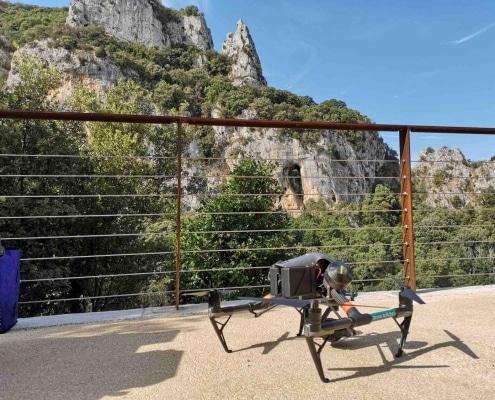 inspection aérienne par drone