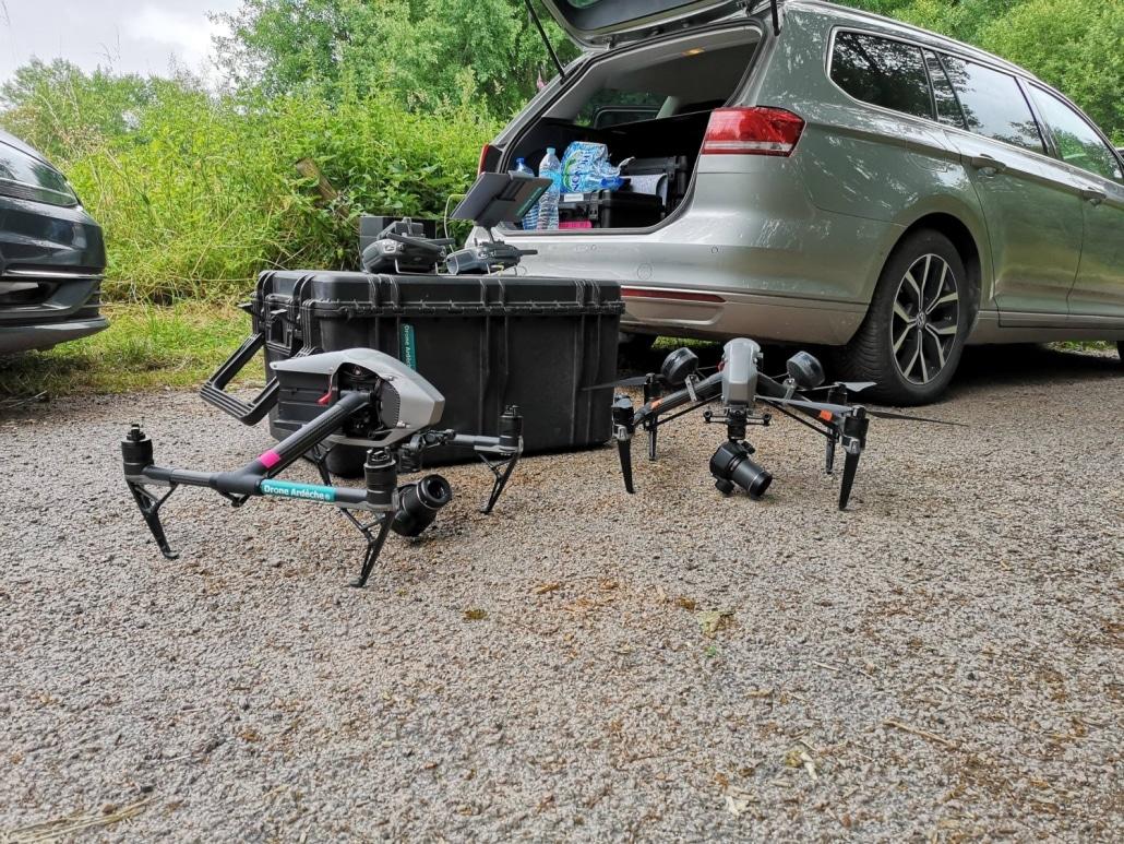 Prestataire drone pour tournage de publicités
