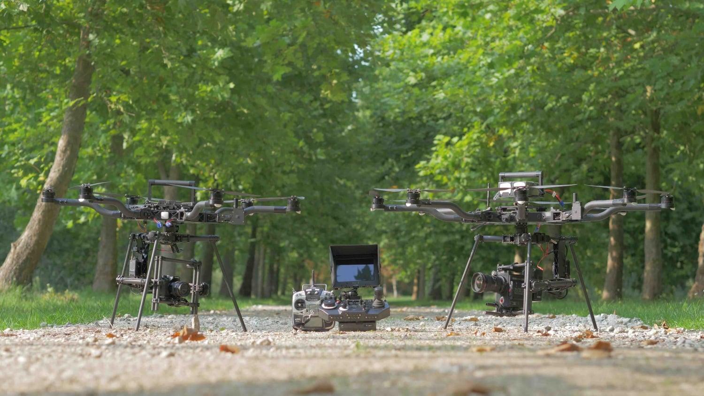 opérateur drone spécialiste en tournage cinéma