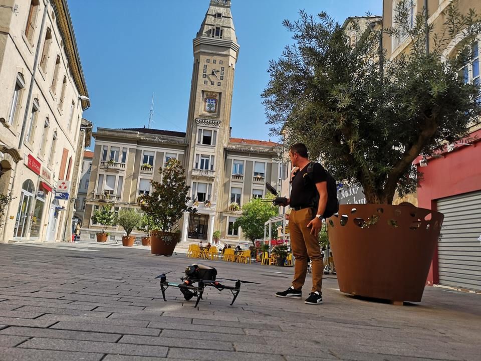 prestation drone à privas