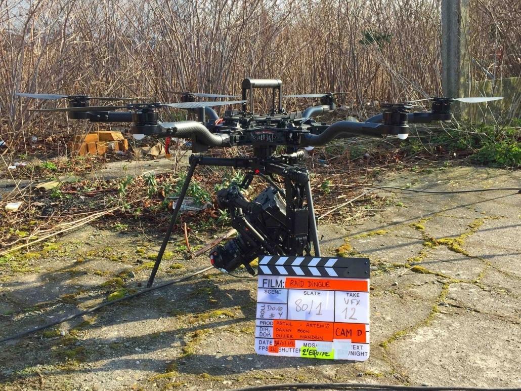 drone pour le cinéma et le tournage de fiction Freefly Alta