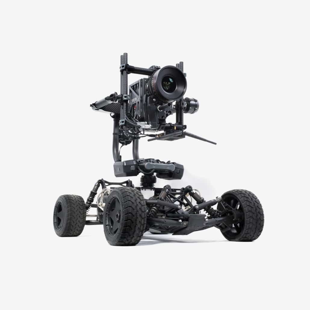 buggycam pour camera cinéma RED ALEXA 4 roues motrices