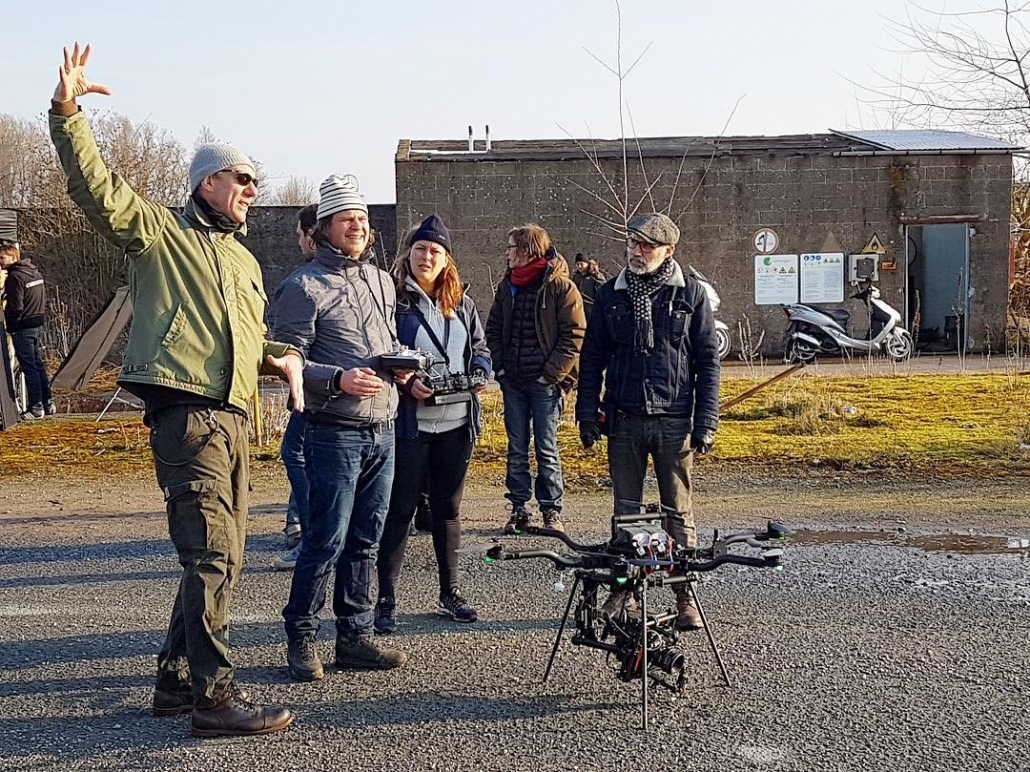 drone freefly pour long métrage