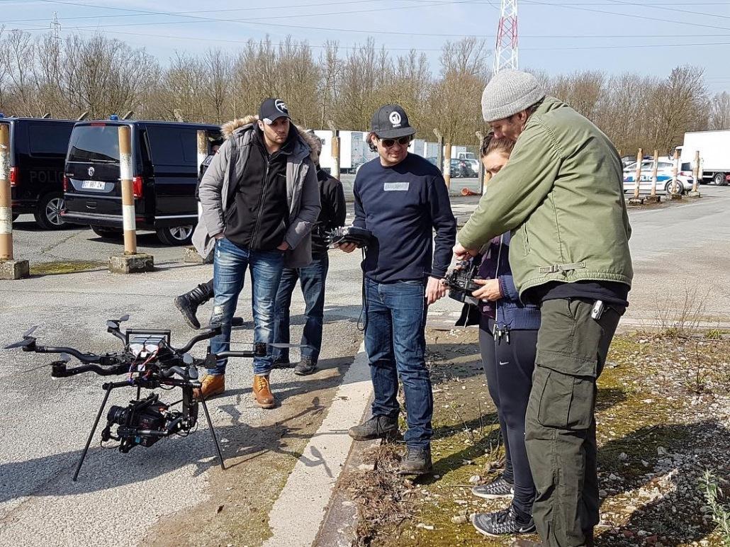 drone pour long métrage