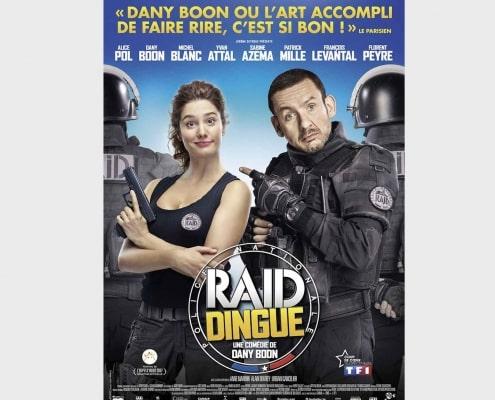 prestataire drone pour long métrage Raid Dingue