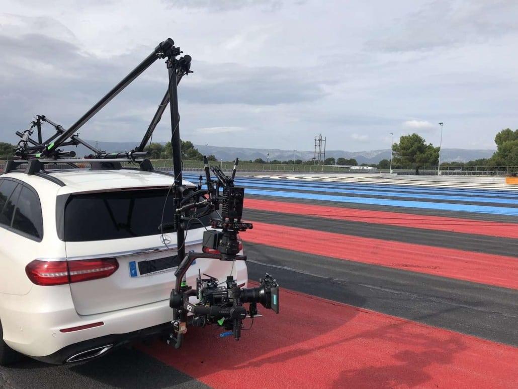 prestataire drone et véhicule travelling Marseille
