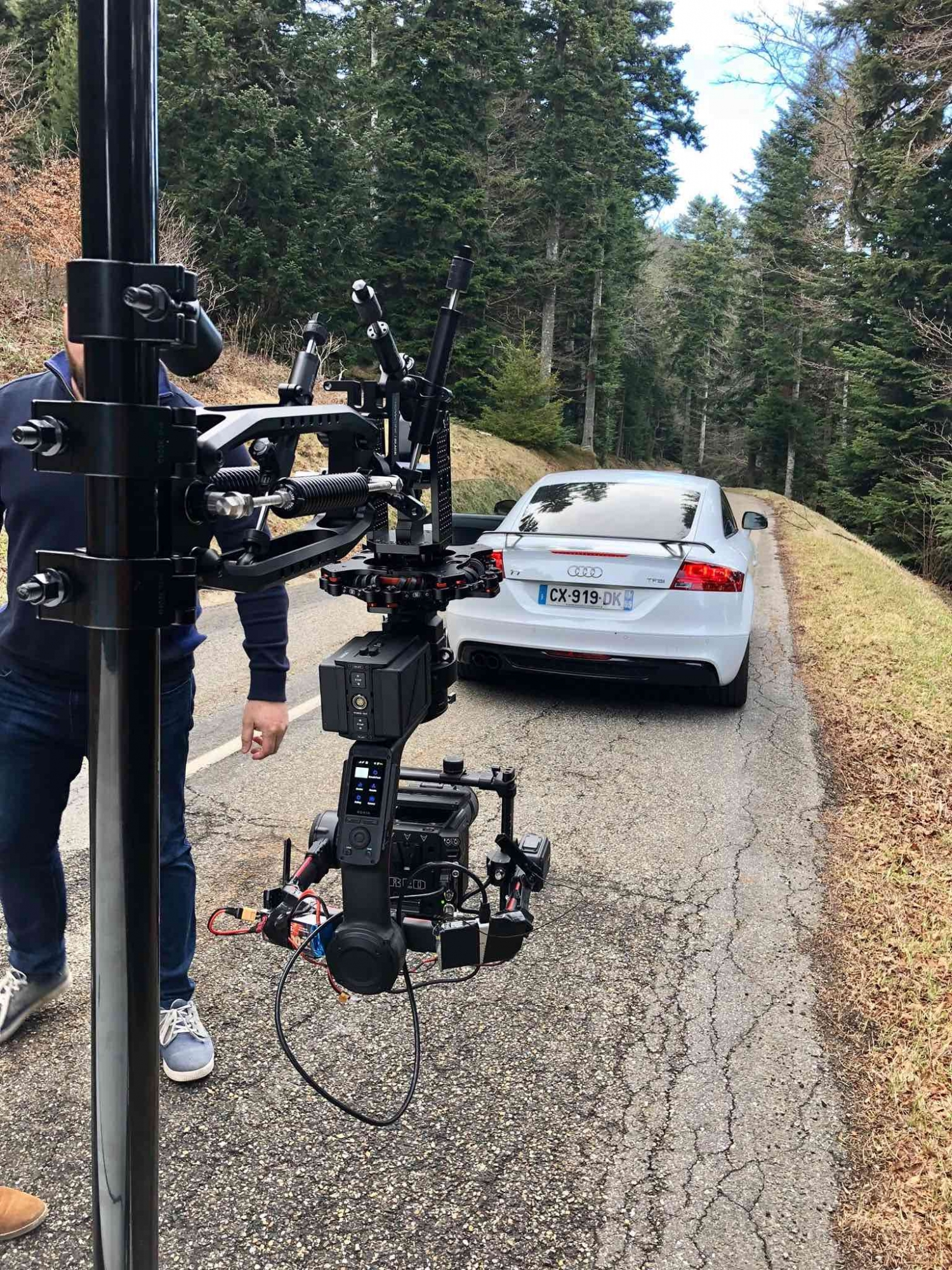 fast car with movi XL in France