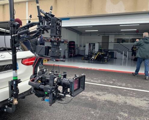 vehicule travelling castellet paul ricard formule 1 | Comment filmer une voiture à grande vitesse ?