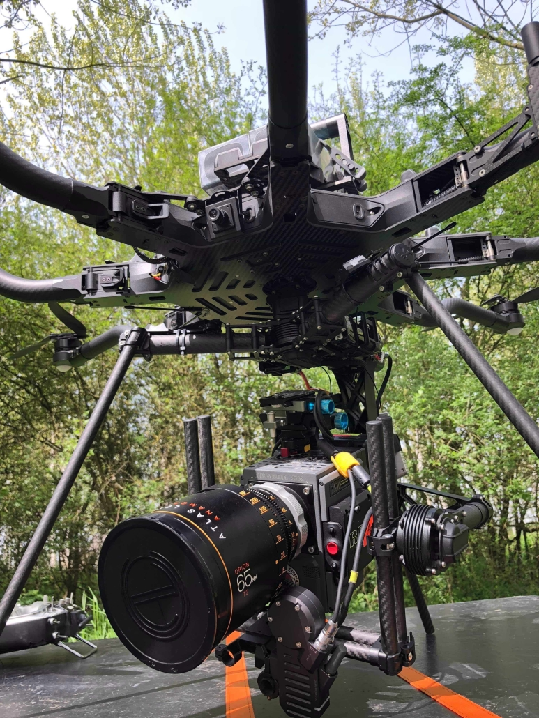 prise de vue aérienne drone cinéma