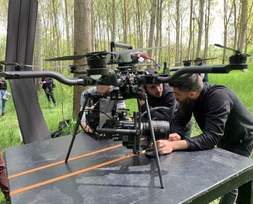 professionnel du drone freefly objectif anamorphique en france Suisse Genève