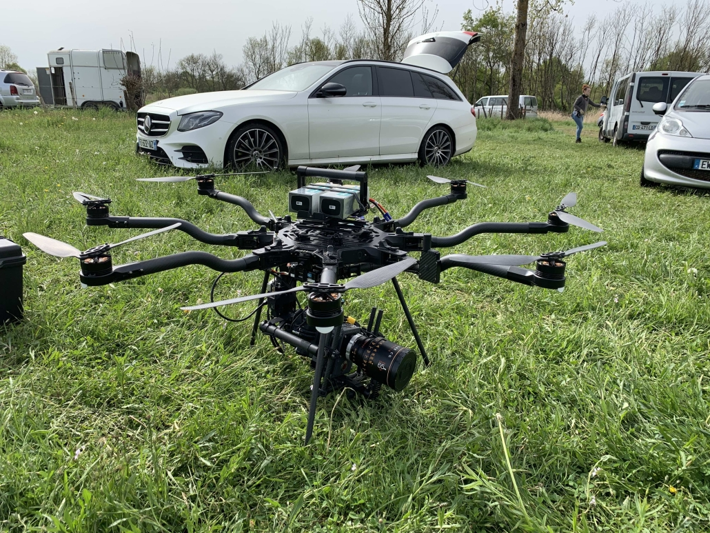 professionnel prestation drone
