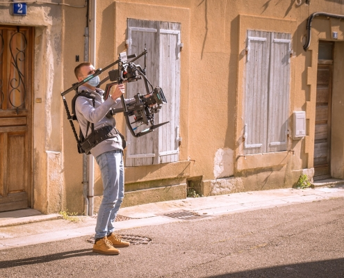 Chef Opérateur Producteur Vidéaste Droniste Réalisateur De Films à Lyon Red Ronin 2