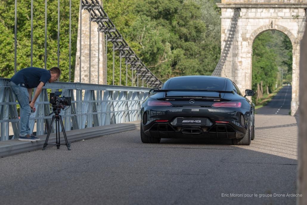 agence vidéo publicité automobile mercedes benz