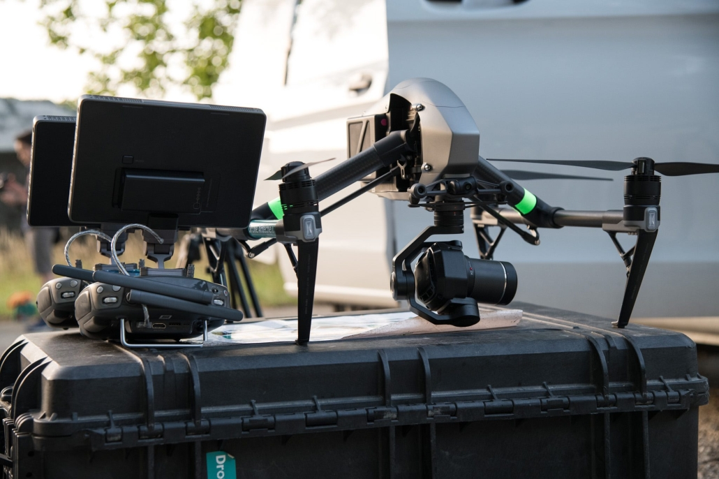 drone pour prises de vues aériennes inspire 2 x7