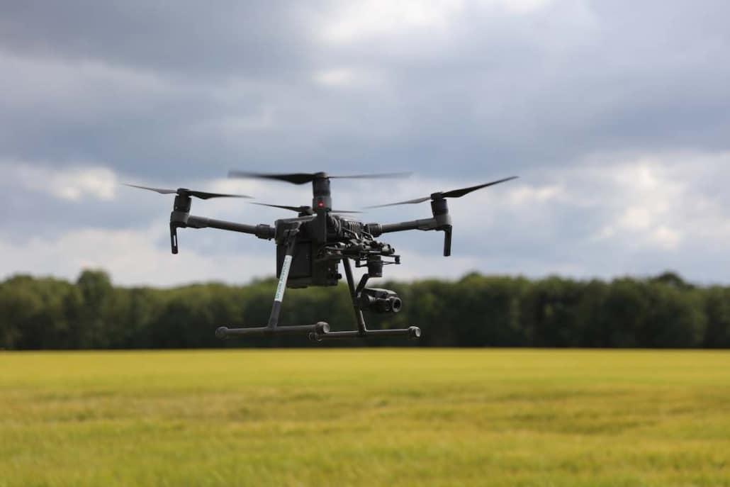 inspection d'éolienne par drone