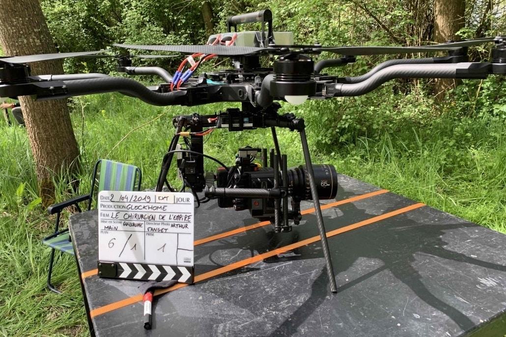 opérateur drone pour fiction   Freefly Alta 8 Pro  