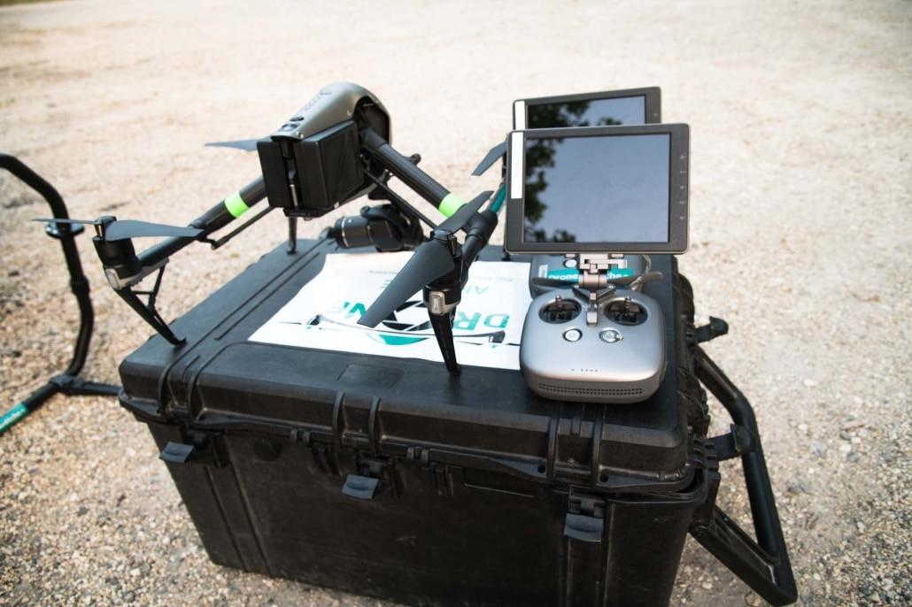 opérateur drone | télépilote inspire 2 professionel