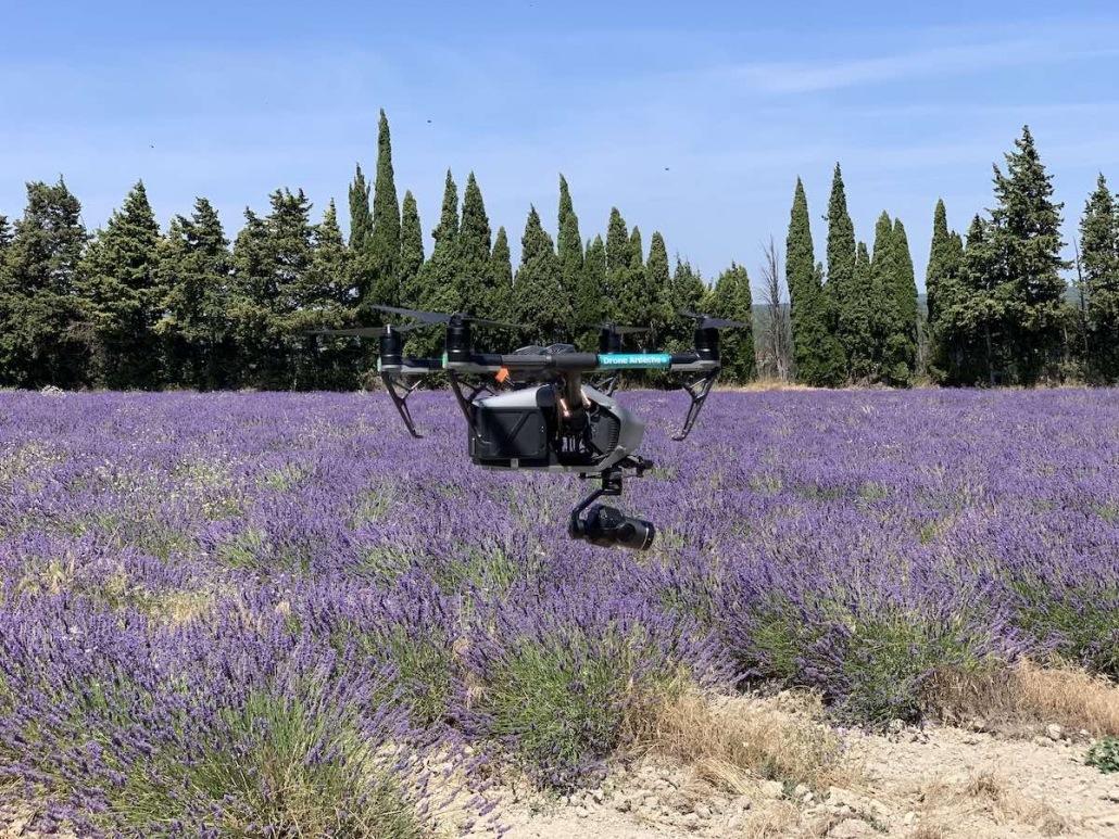 pilote de drone en vauluse avignon gordes