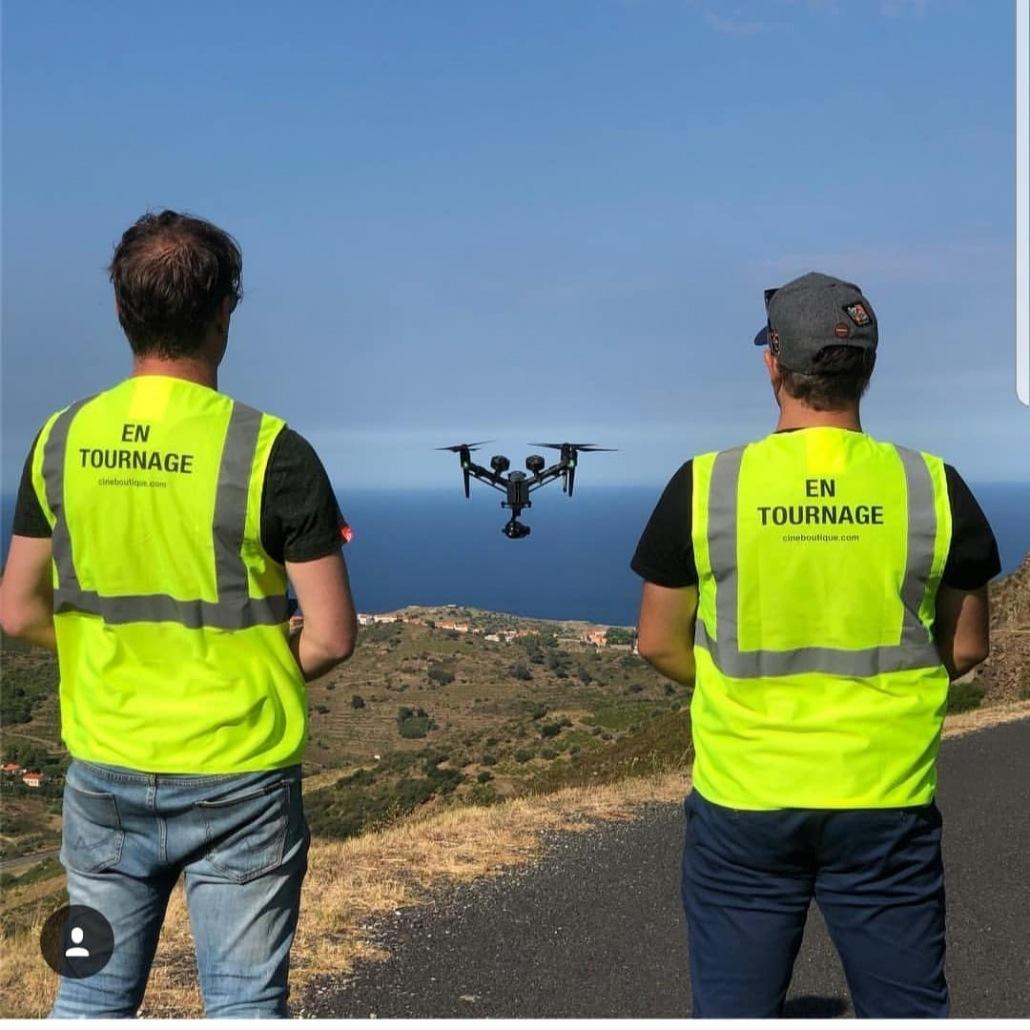 Prestataire drone cinéma film long metrage