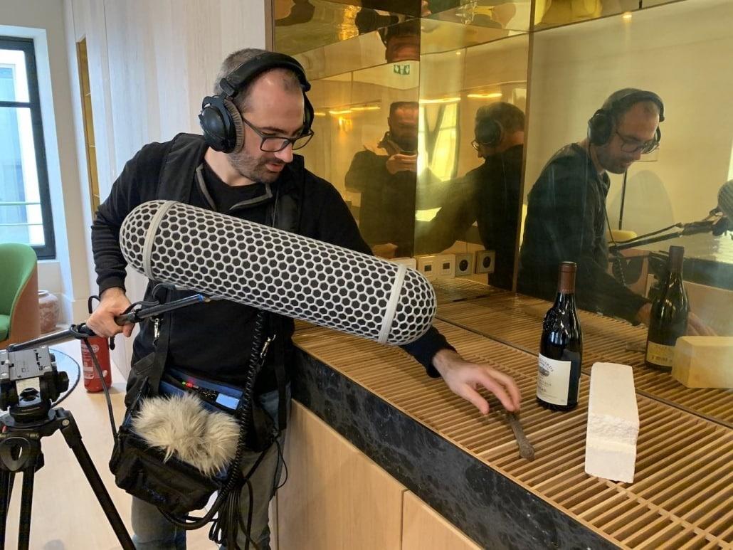 quel est le role d'un realisateur, ingénieur du son, sound design